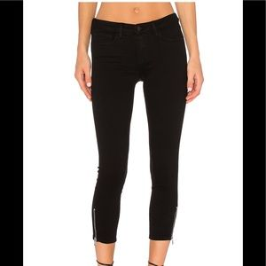 New with tags L'agence Emmanuel crop skinny jeans
